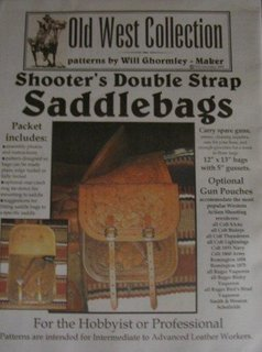 Shooters Double Strap Saddlebags Western Satteltaschen