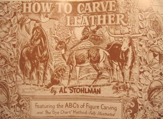 How to carve Leather  v.Al Stohlman