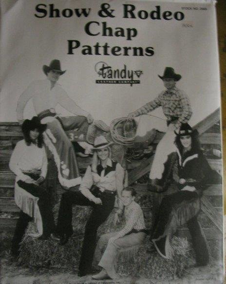 Show & Rodeo Chap Pattern Mappe, 24,95 €
