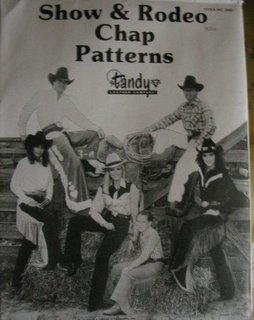 Show & Rodeo Chap Pattern Mappe