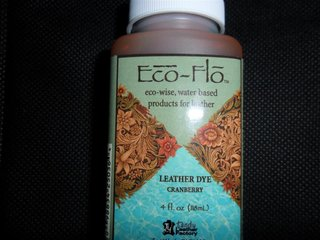 2600-10 Eco-Flo Lederfarbe Cranberry