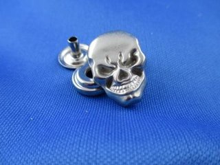 Snap skull Nickel matt