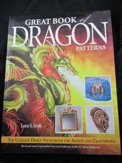 Great Book of Dragons Pattern  Drachenvorlagen