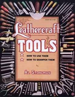 Leathercraft Tools v.Al Stohlman How to use them how to scharpen them